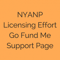 NYANP Licensing Effort Go Fund Me Support Page