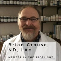 NYANP Member in the Spotlight – Brian Crouse, ND, LAc