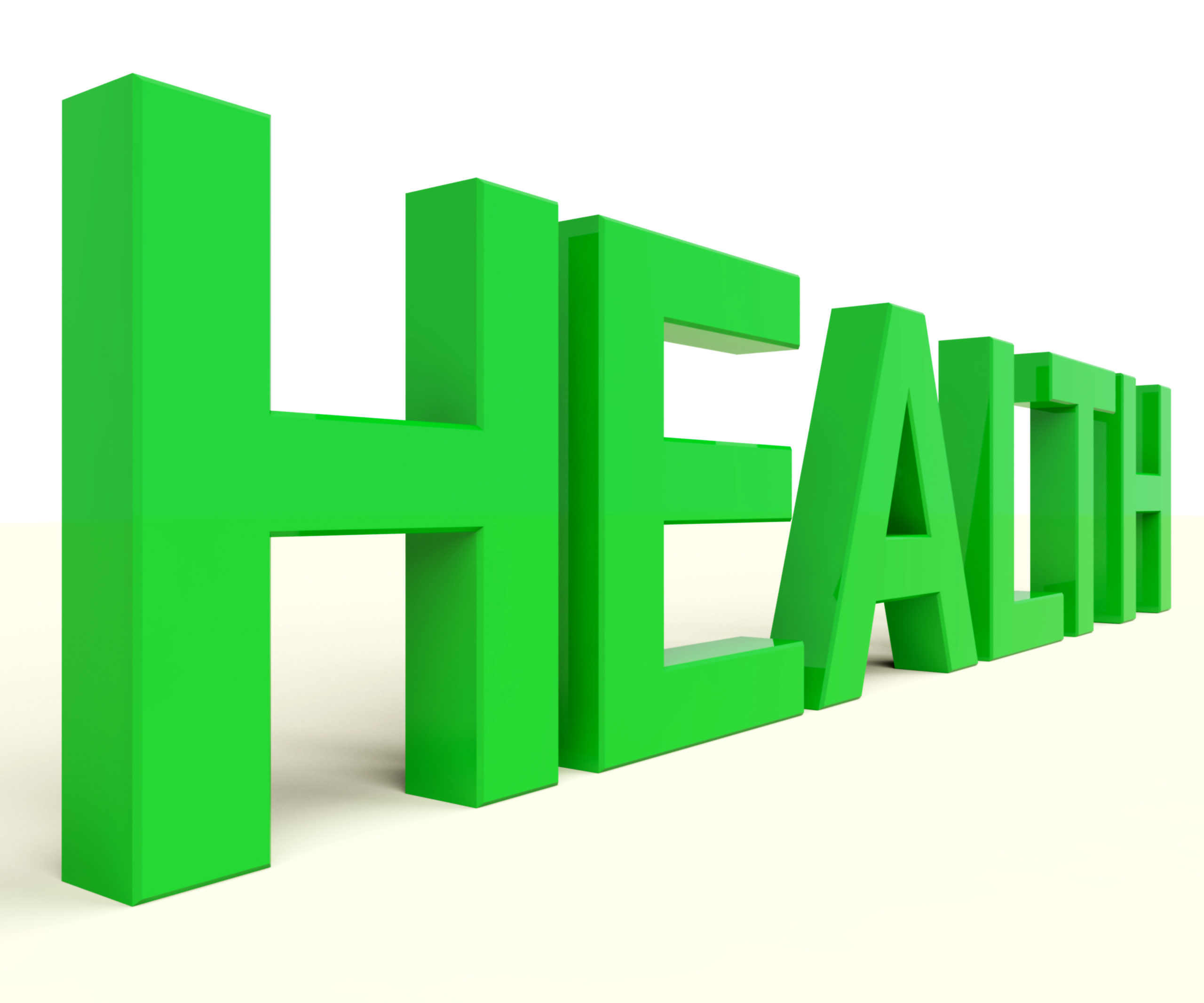 health word in green